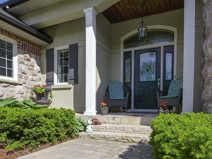 Stone, Stucco Bungalow, East Garafraxa, Orangeville, Ontario