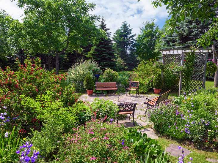 FIreplit, Gardens, Courtyard