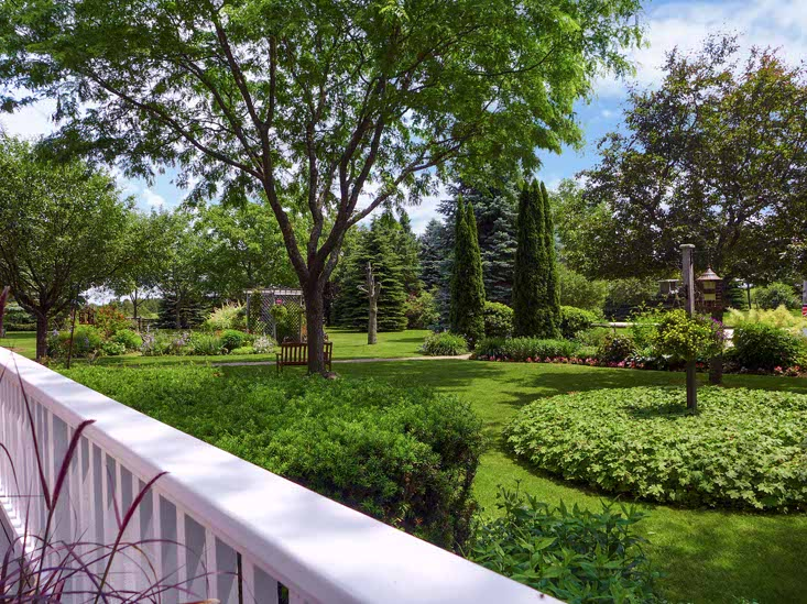 Deck View, Perennial Gardens
