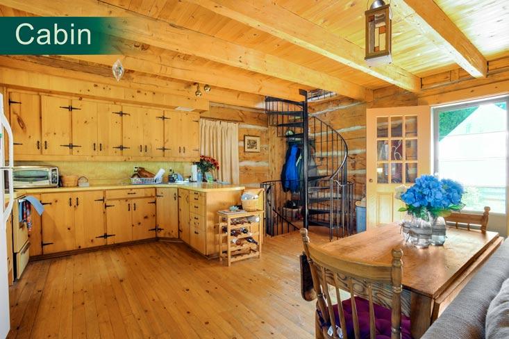 Pine Kitchen, Cabin, Rustic, Mulmur