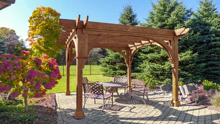 Outdoor Sitting Area, Pergola