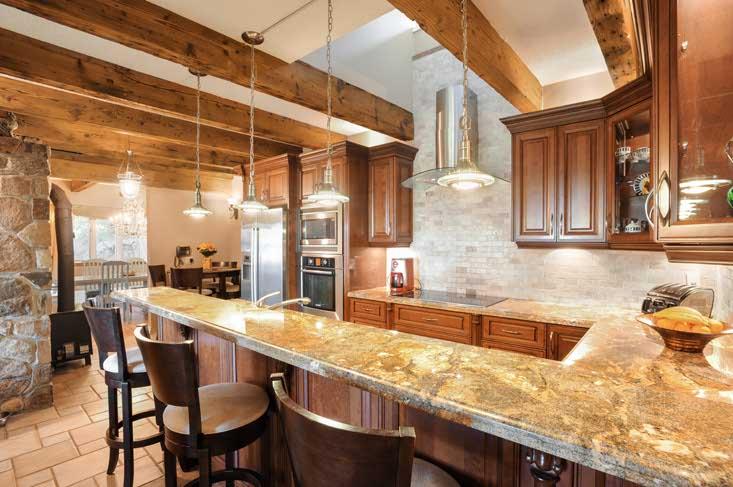 Renovated Kitchen, Granite