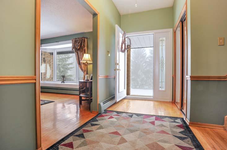 Oak Hardwood Flooring, Double Closet