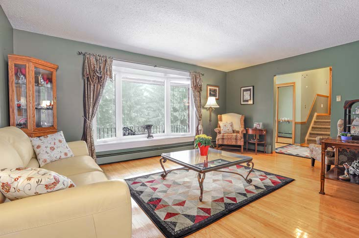 Living and Dining Rooms, Bay Window