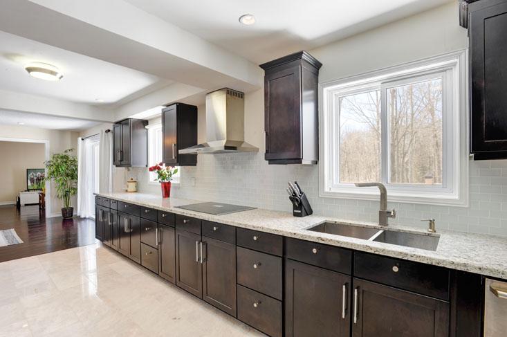Bright Open Concept Kitchen