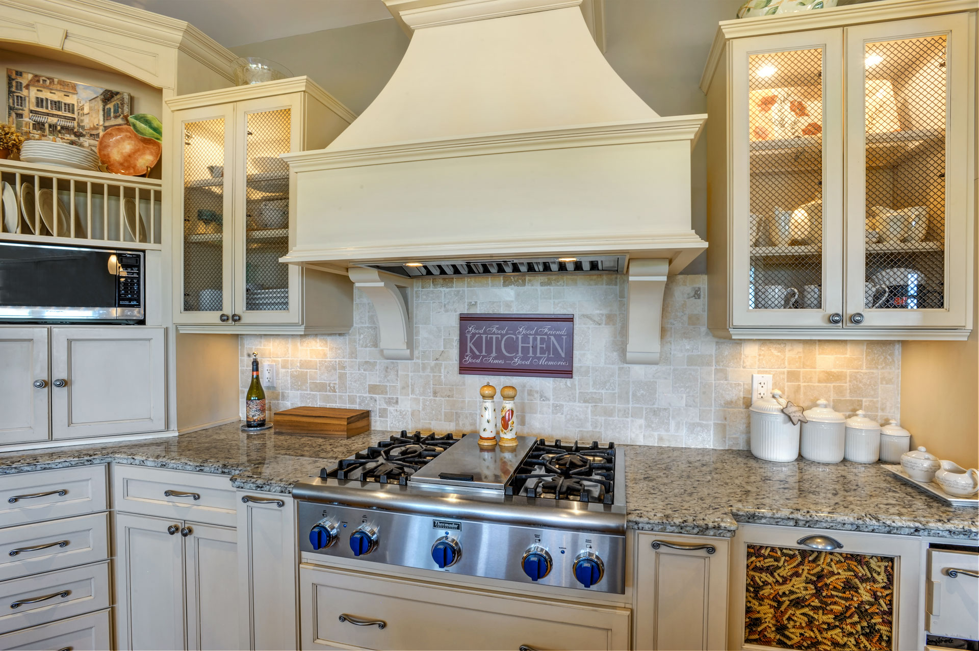 thermador gas stove top