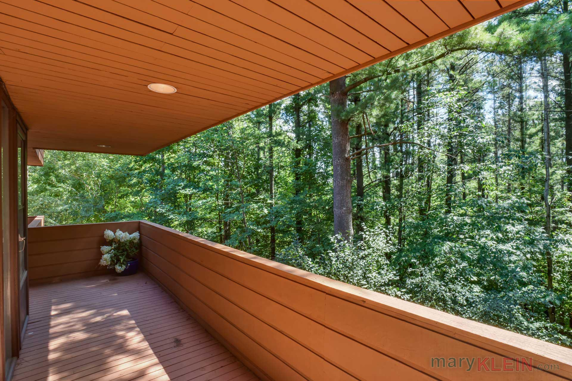 Covered Balcony, modern design, home for sale