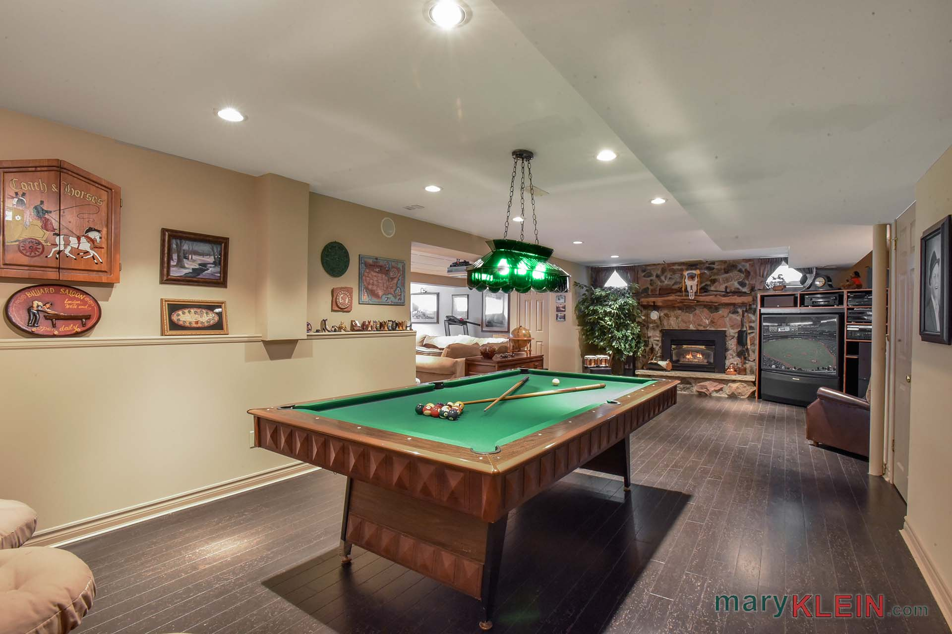 Rec and Games Room, Finished Basement