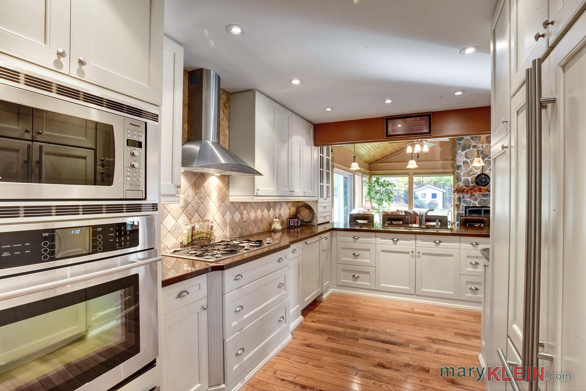 Kitchen, renovated