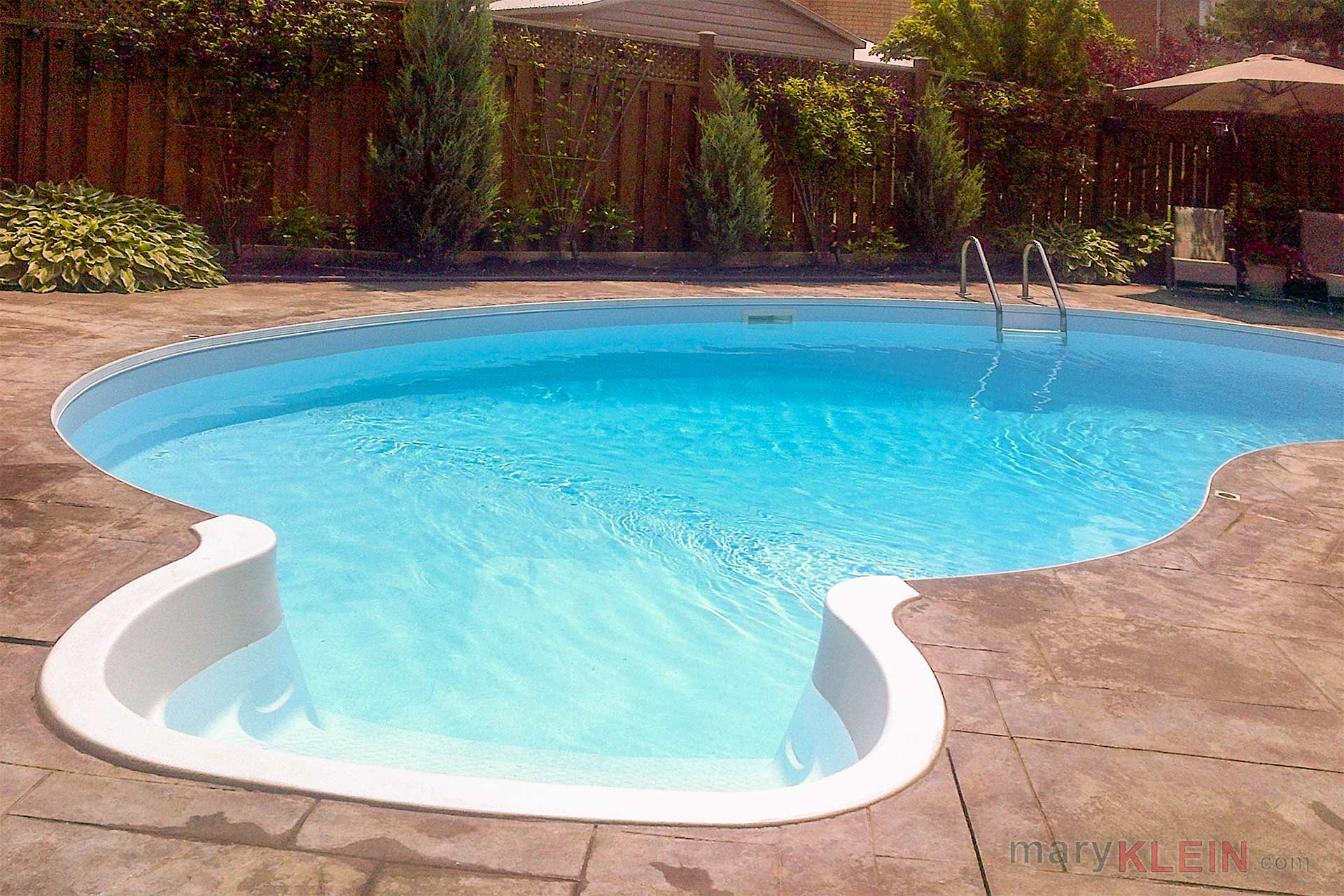 inground heated pool, home for sale, caledon