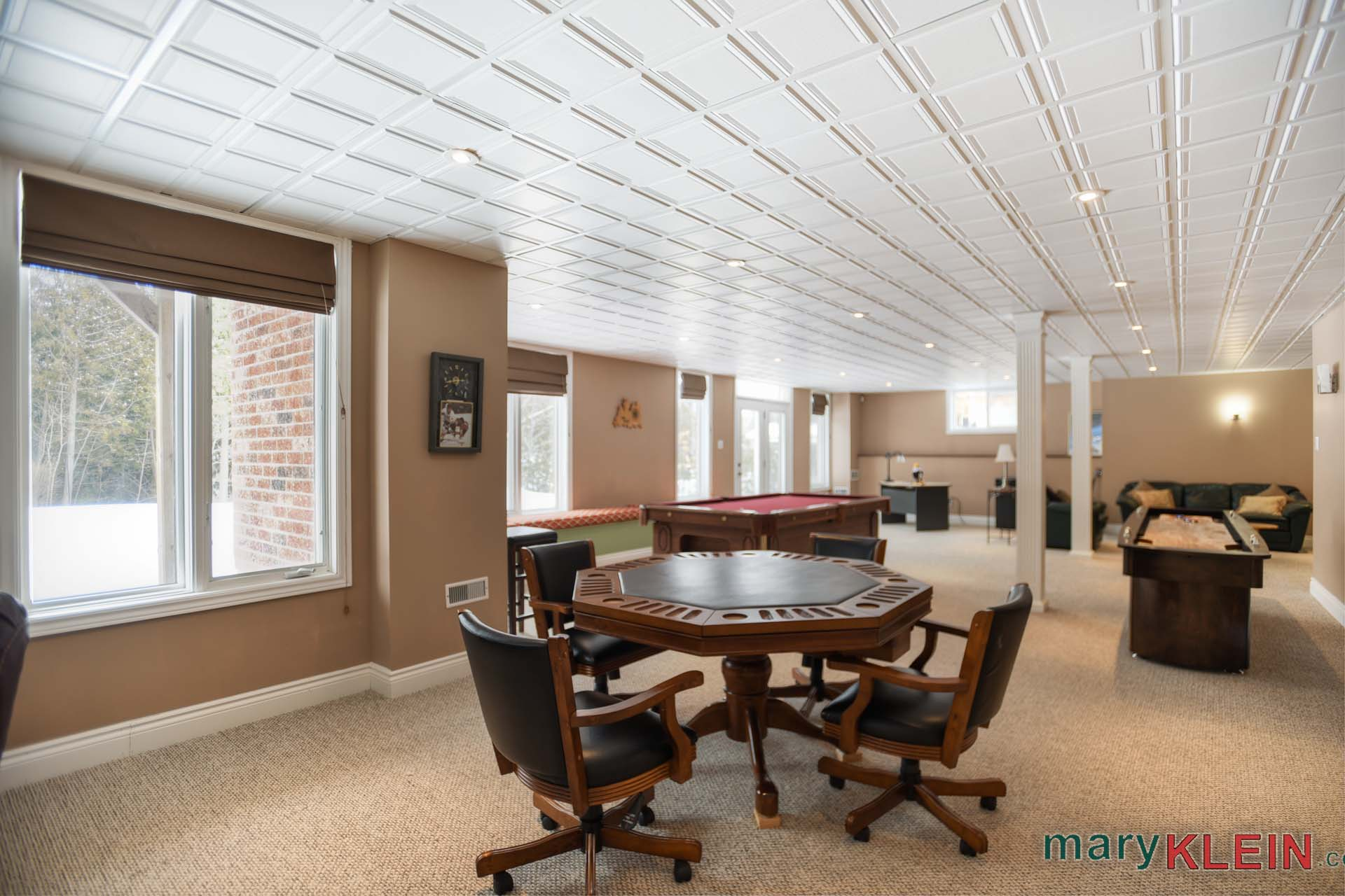 Large, Bright, finished walk-out basement
