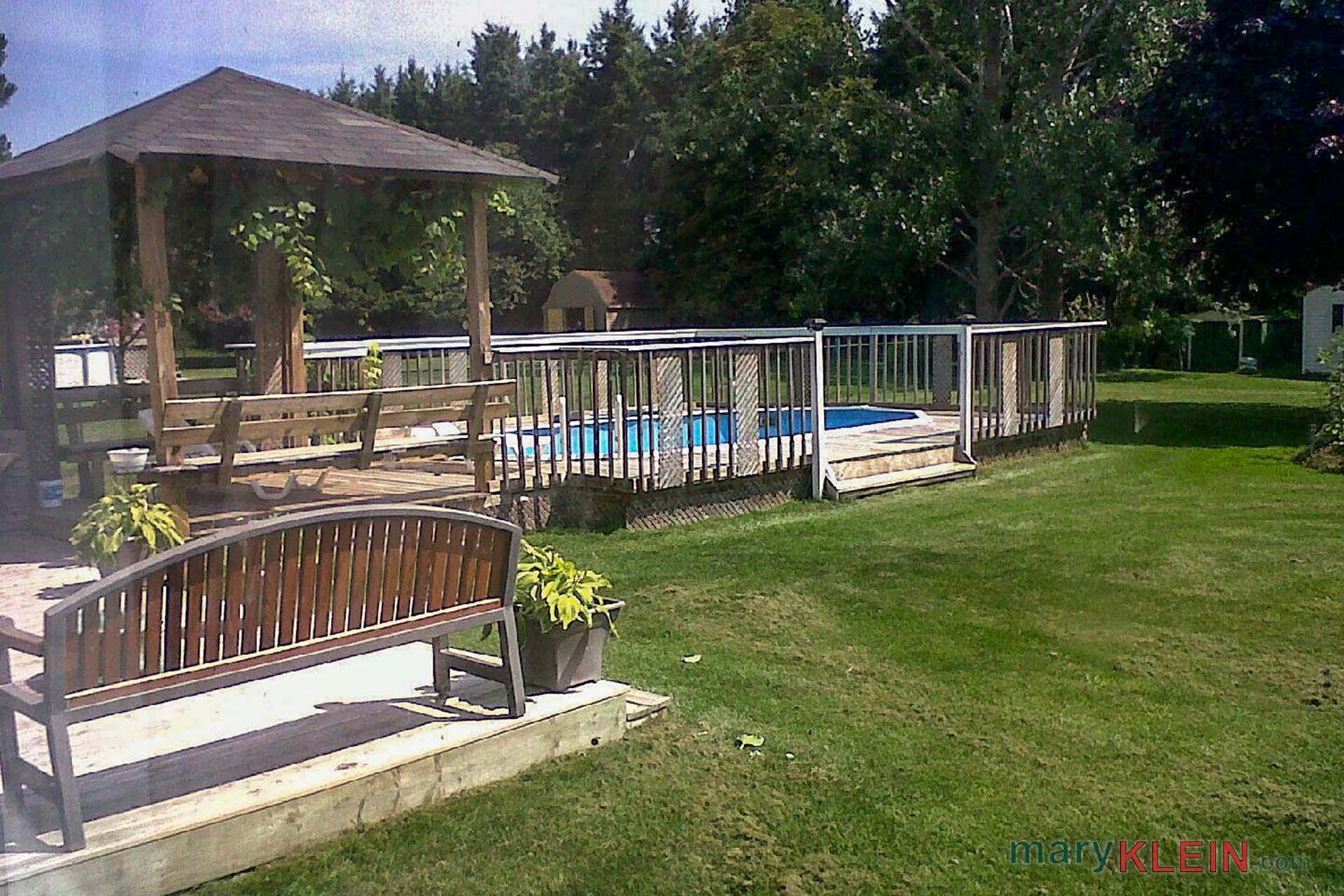 Backyard, Pool