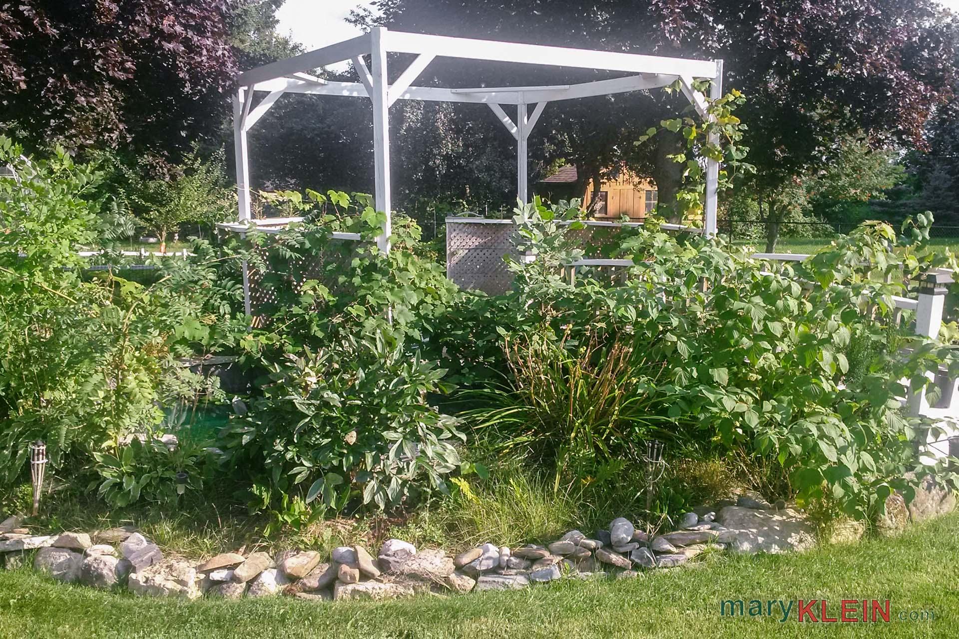 Pergola Area, Garden Landscape